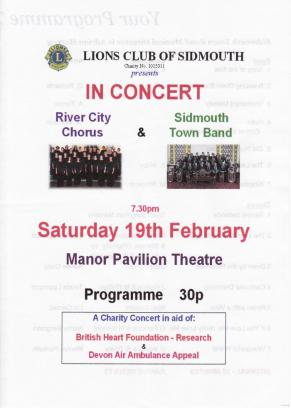 Concert programme - 19 February 2011