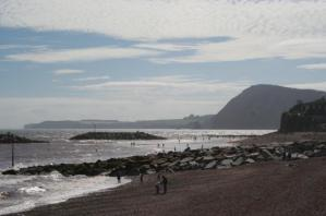Sidmouth sea-front