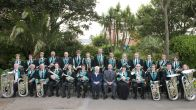 Sidmouth Town Band in Connaught Gardens 2016 cropped
