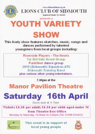 Youth Variety Show poster